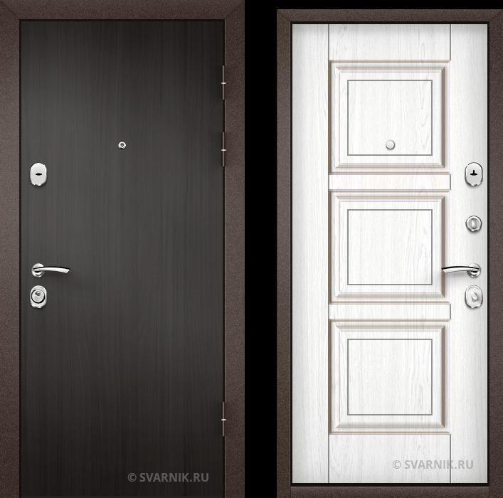 Дверь металлическая с установкой на дачу ламинат - винорит