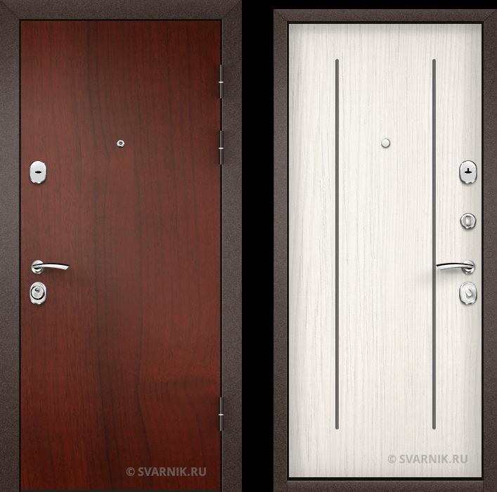 Дверь металлическая с установкой в квартиру ламинат - винорит