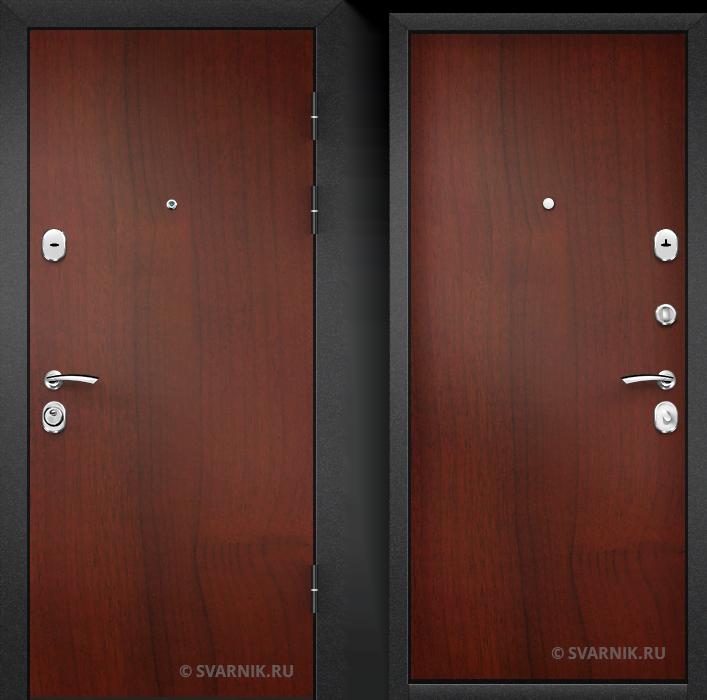 Дверь входная с терморазрывом на дачу ламинат - ламинат