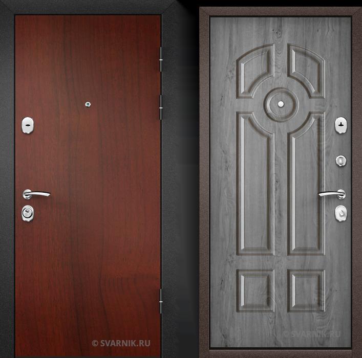 Дверь входная усиленная на дачу ламинат - массив
