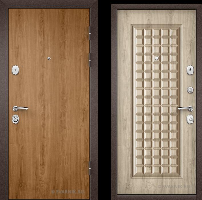 Дверь металлическая российская в офис ламинат - винорит
