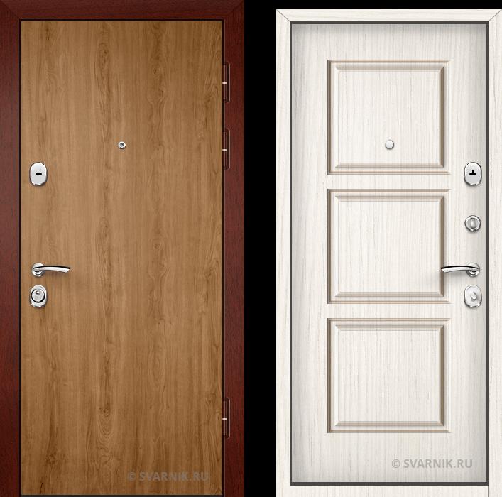 Дверь входная внутренняя в офис ламинат - массив