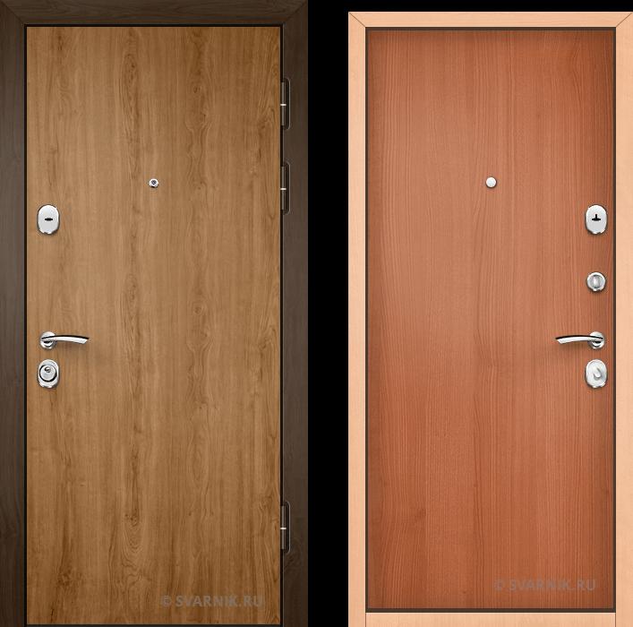 Дверь входная под ключ уличная ламинат - ламинат