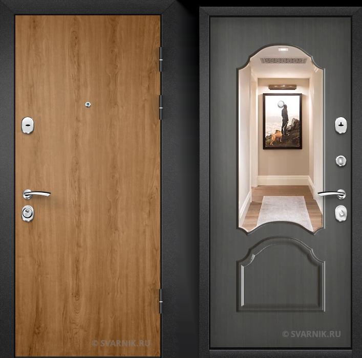 Дверь металлическая российская в квартиру ламинат - винорит