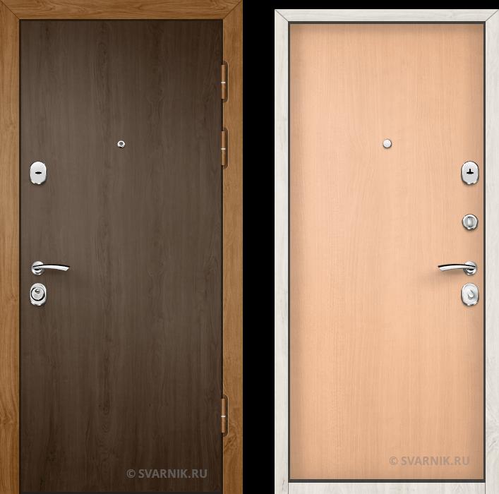 Дверь входная с терморазрывом в офис ламинат - ламинат