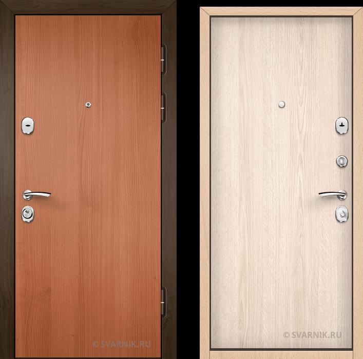 Дверь входная наружная в офис ламинат - ламинат