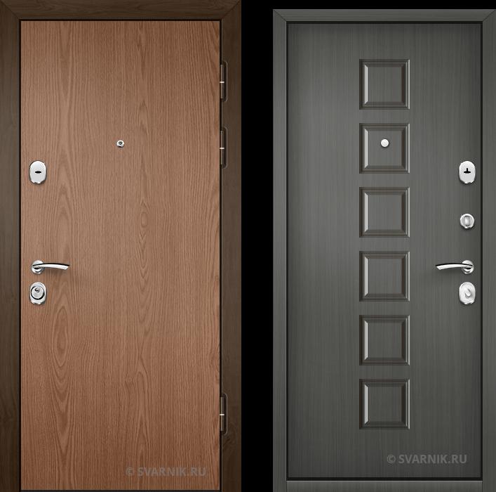 Дверь металлическая наружная на дачу ламинат - винорит