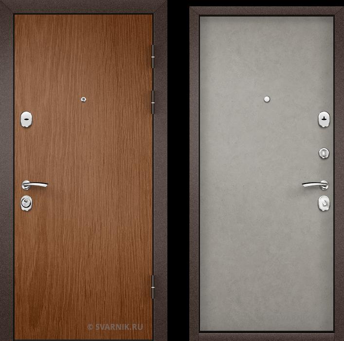 Дверь входная наружная в квартиру ламинат - массив