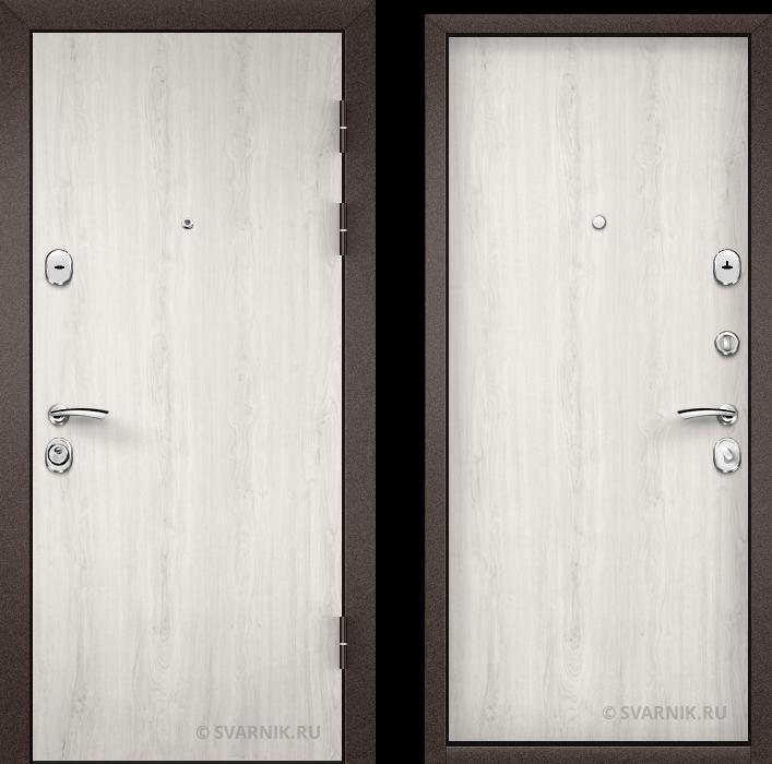Дверь входная усиленная уличная ламинат - ламинат