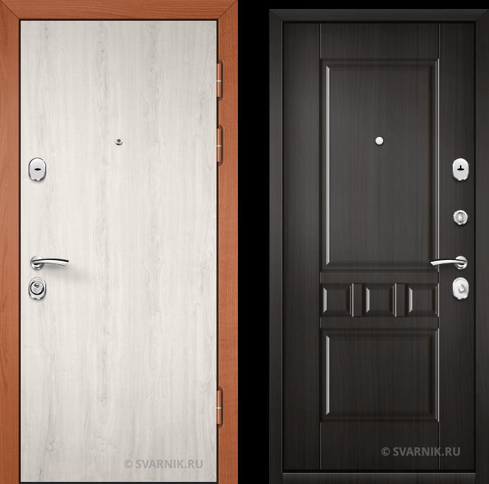 Дверь входная с шумоизоляцией в дом ламинат - массив