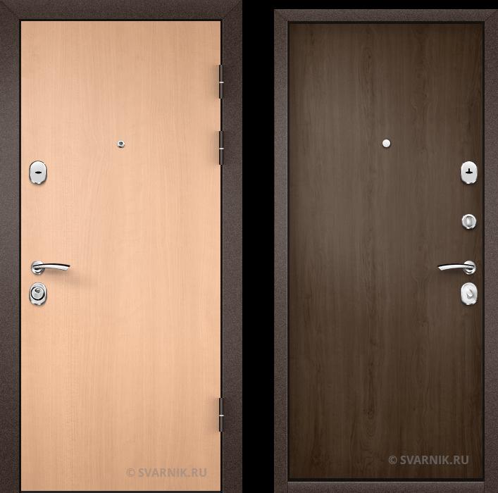 Дверь входная наружная в квартиру ламинат - ламинат