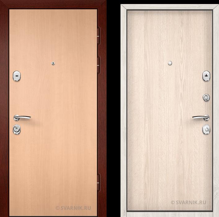 Дверь входная усиленная в дом ламинат - ламинат