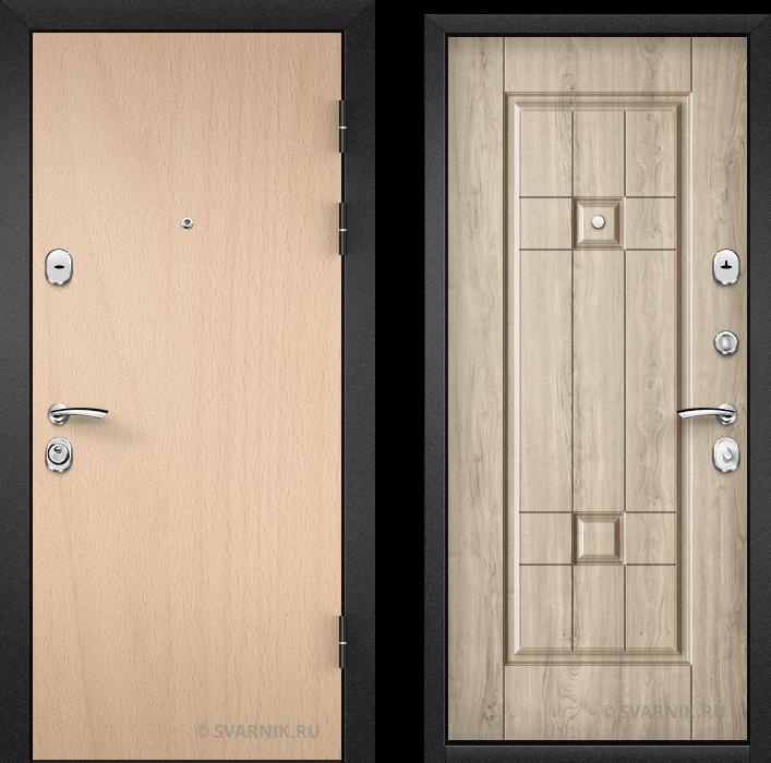 Дверь металлическая вторая уличная ламинат - винорит