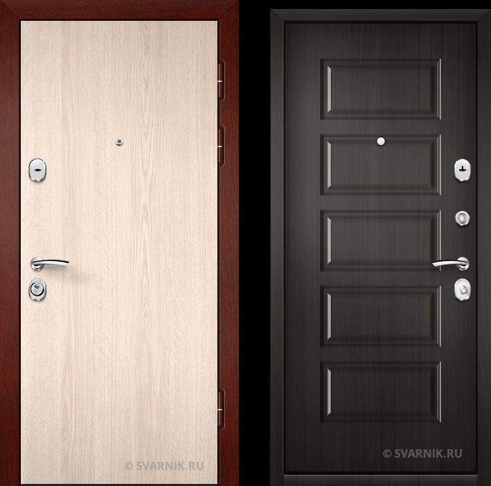 Дверь металлическая с установкой в офис ламинат - винорит