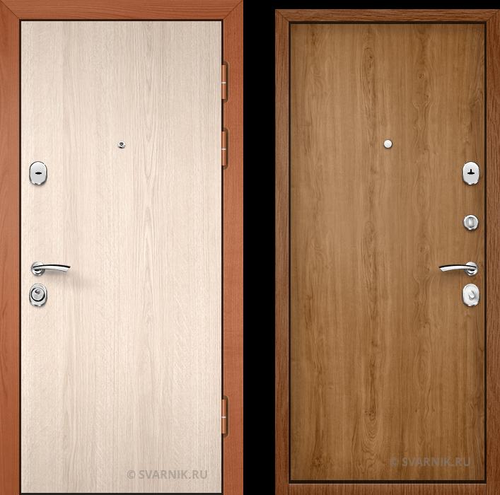 Дверь входная с замками KALE в коттедж ламинат - ламинат