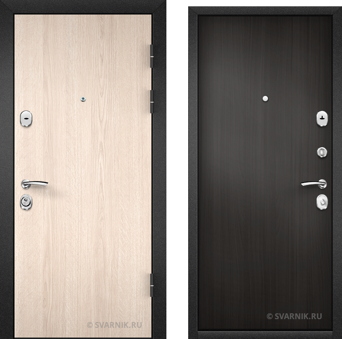 Дверь входная с установкой в коттедж ламинат - ламинат
