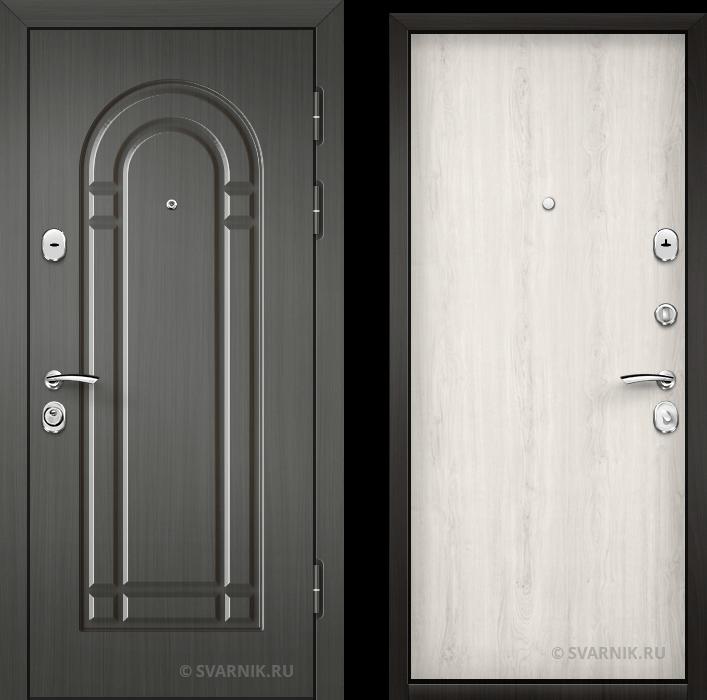Дверь стальная с замками KALE уличная МДФ - ламинат